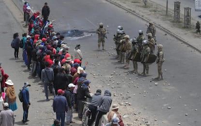 Bolivia, scontri tra polizia e manifestanti pro Morales: 3 morti