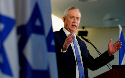 Israele, Gantz rinuncia al mandato e attacca Netanyahu