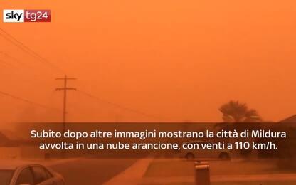 Australia, tempesta di sabbia colpisce la città di Mildura. VIDEO