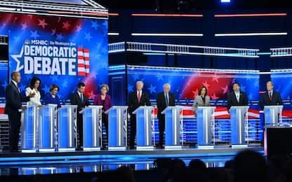 """Usa, confronto tra i candidati dem. Sanders: """"Trump non ci consumi"""""""