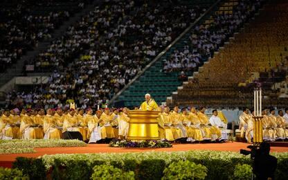 Thailandia, festa per la prima tappa di Papa Francesco. FOTO