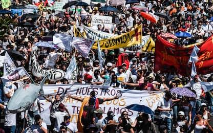 Colombia, proteste nelle principali città del Paese. FOTO