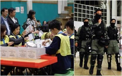 Elezioni Hong Kong, verso il trionfo dei democratici: affluenza record