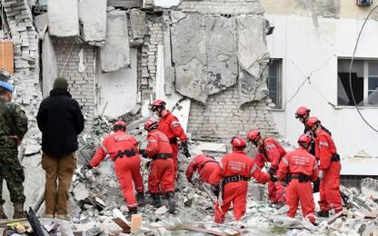 Terremoto Albania, quello che rimane a Thumana. VIDEO