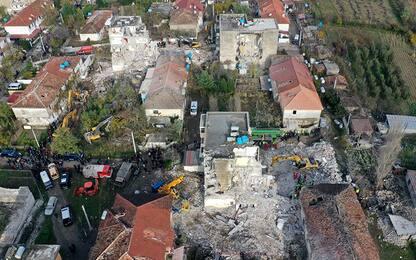 Terremoto in Albania, Ingv: origine è una faglia lunga 85 chilometri