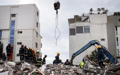 Terremoto Albania, nuova scossa di magnitudo 4.5
