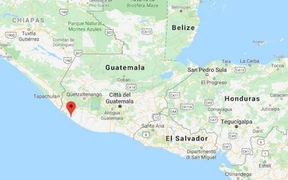 Terremoto Guatemala: scossa di magnitudo 5.6 nel centro sud del Paese