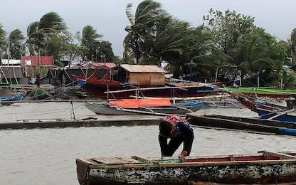 Le Filippine si preparano all'arrivo del tifone. FOTO