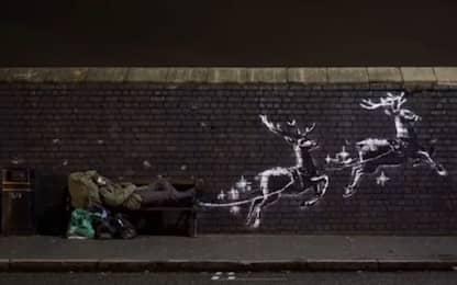 La nuova opera di Banksy a Birmingham. VIDEO