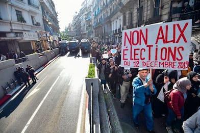 Il 12 dicembre l'Algeria va al voto in un clima di forti proteste