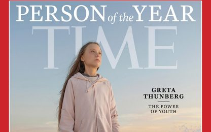 Greta Thunberg è la Persona dell'Anno di Time per il 2019
