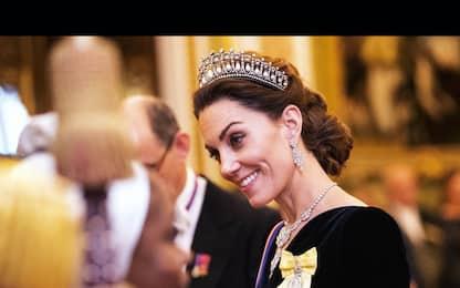 Kate Middleton indossa la tiara della regina. FOTO