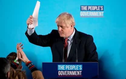 Elezioni Uk, i risultati: maggioranza assoluta per Johnson