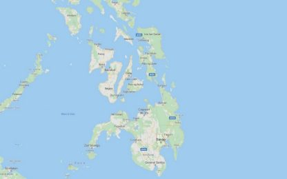 Filippine, terremoto di magnitudo 5.7 nell'isola di Mindanao