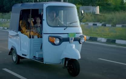 Ape Piaggio diventa green, in India la tre ruote elettrica: VIDEO
