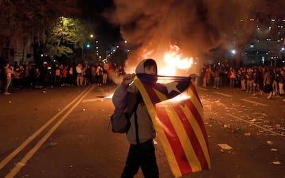 Barcellona-Real Madrid, scontri fuori dallo stadio. FOTO