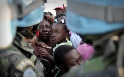 Haiti, centinaia di bimbi nati da abusi dei Caschi blu su ragazzine