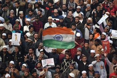 India, manifestazioni contro nuova legge sulla cittadinanza