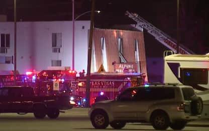 Las Vegas, incendio in un motel: 6 morti e 13 feriti