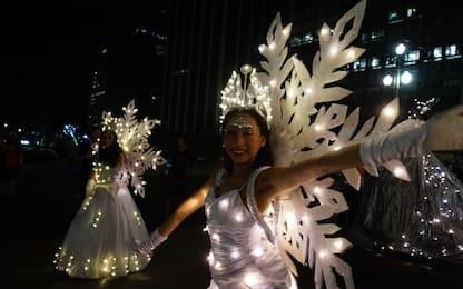 """Natale, il Brasile si illumina con la """"parata di luci"""". FOTO"""