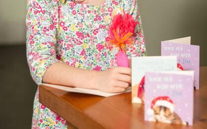 Bimba compra cartolina Natale, trova richiesta aiuto da carcere cinese