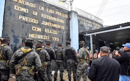 Honduras, scontri in carcere: almeno 34 morti nel weekend