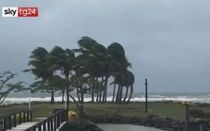 Isole Fiji, un morto e un disperso a causa del ciclone Sarai: VIDEO