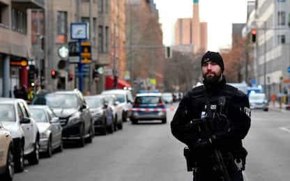 Berlino, maxi-operazione della polizia dopo una rapina. FOTO