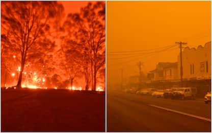 Incendi Australia: due morti a Cobargo, in 4mila in fuga sulle spiagge