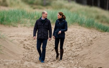 "William e Kate lanciano un premio per ""visionari"" del clima"