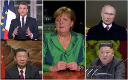 Capodanno 2020, i discorsi dei leader mondiali. VIDEO