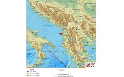 Capodanno di paura in Albania, terremoto al largo di Durazzo
