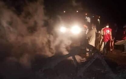 Cade aereo militare in Sudan, 18 morti tra cui 4 bambini