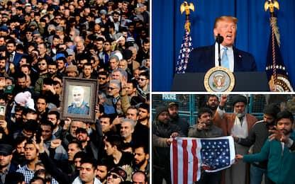 "Raid Usa, Trump: Soleimani preparava attacchi. Teheran: ""Vendetta"""