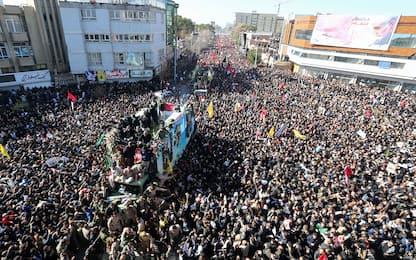 Soleimani, ressa ai funerali: oltre 50 morti. FOTO