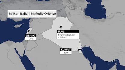 Obiettivi e numeri della crisi Usa-Iran spiegata in mappe