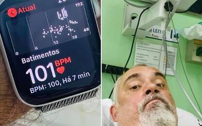 Apple Watch salva un uomo dall'infarto, Tim Cook gli scrive