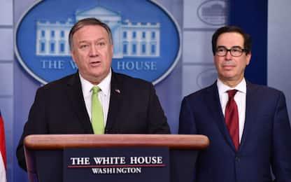 Tensione Usa-Iran, nuove sanzioni contro Teheran