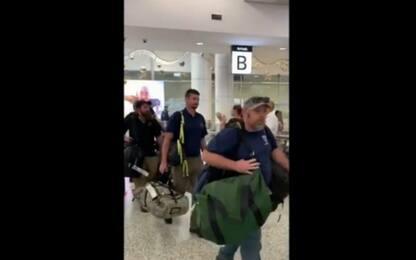 In Australia per gli incendi: l'applauso per i pompieri Usa. VIDEO