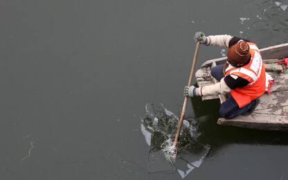 Kashmir e Bangladesh nella morsa del freddo. FOTO