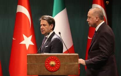 Conte incontra Erdogan: serve cessate fuoco duraturo in Libia