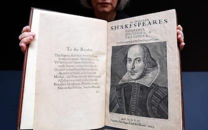 All'asta il Primo Infolio di Shakespeare del 1623