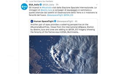 Australia, gli incendi visti dalla Stazione spaziale internazionale