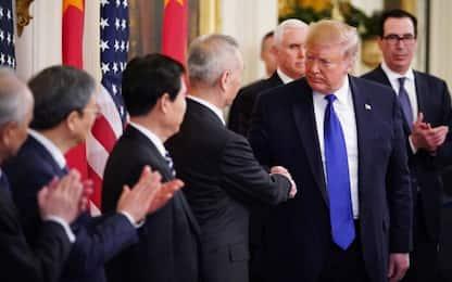 """Dazi, Trump: """"Andrò in Cina in un futuro non lontano"""""""