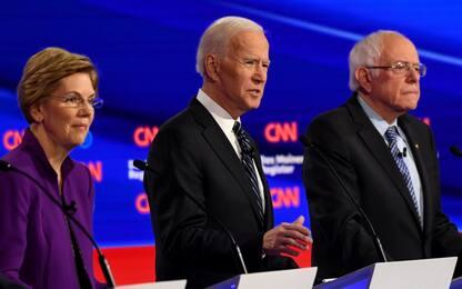Usa 2020, ultimo dibattito dem prima delle Primarie in Iowa