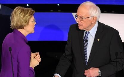 """Usa 2020, Warren accusa Sanders: """"Mi hai dato della bugiarda in tv"""""""