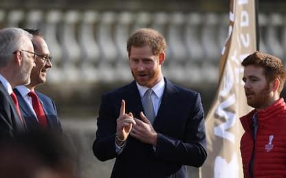 Harry, primo impegno pubblico senza Meghan dopo la crisi