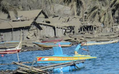 Filippine: danni e cenere per l'eruzione del vulcano Taal