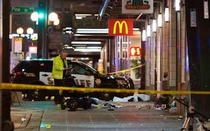 Usa, sparatoria a Seattle, un morto e sette feriti