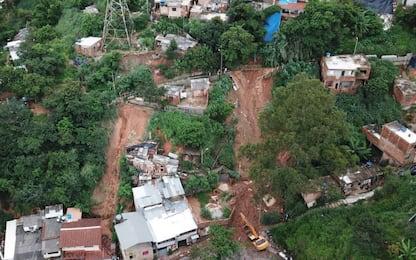 Brasile, frane e alluvioni nel sud-est: almeno 30 morti. VIDEO